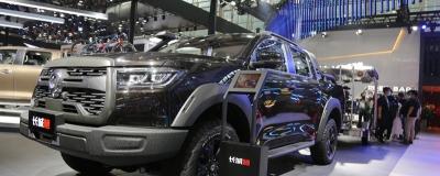 2020广州车展:长城炮越野皮卡拖挂版正式上市