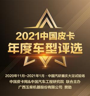 2021中国皮卡年度车型评选