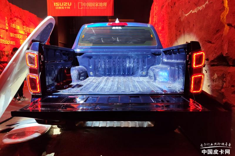 明年5月上市 全新江西五十铃D-MAX首发亮相