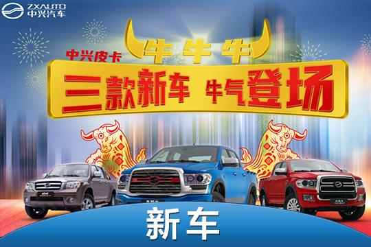 中興多款新車開啟預定 現款車型降價促銷