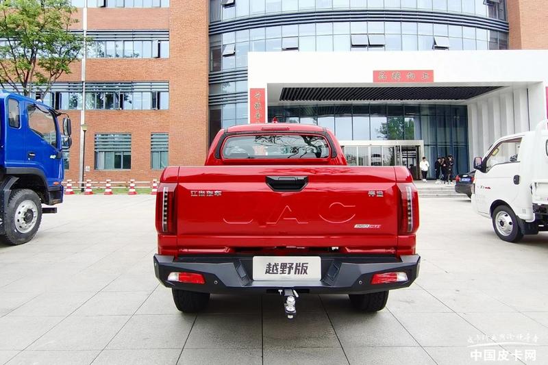 计划5月份上市 预售16.8万 江淮悍途越野版实车亮相