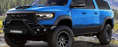 Hennessey又来魔改了 这次把Ram 1500 TRX改成了7座SUV