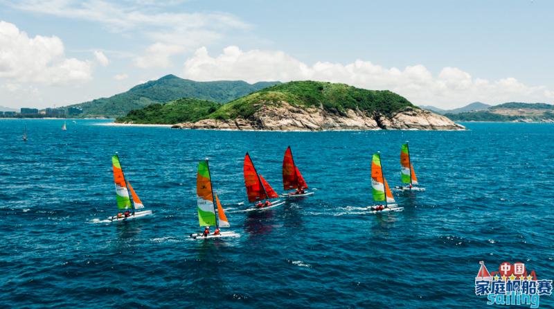 碧海蓝天千帆竞渡 纳瓦拉2021中国家庭帆船赛扬帆起航