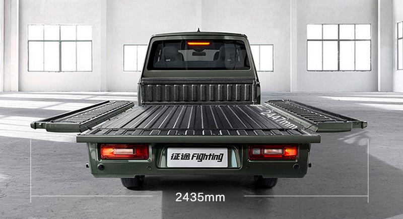 長貨箱+三面全開 這些雙排皮卡貨箱超2米