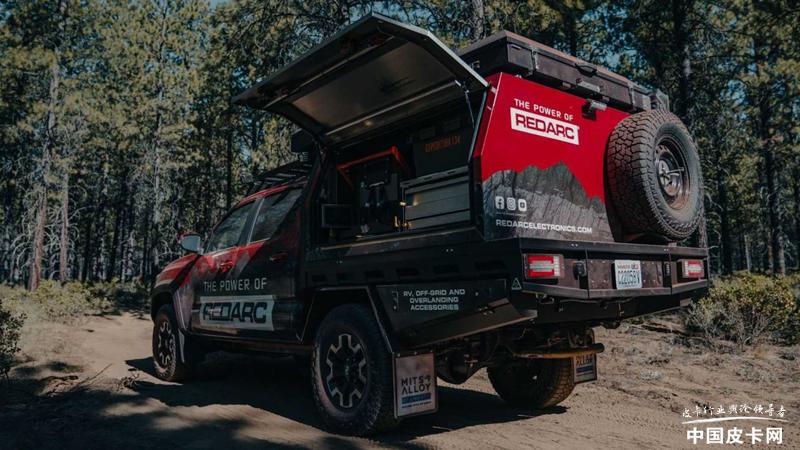 采用平頂設計 豐田Tacoma推出改裝露營車