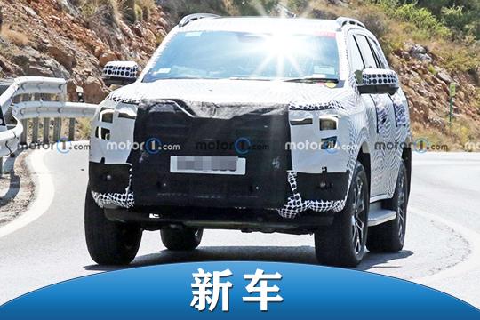 將與福特Ranger共線生產 全新一代福特撼路者路試諜照曝光
