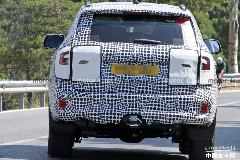 将与福特Ranger共线生产 全新一代福特撼路者路试谍照曝光