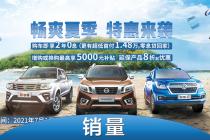 皮卡賣出4092臺 鄭州日產8月銷量公布