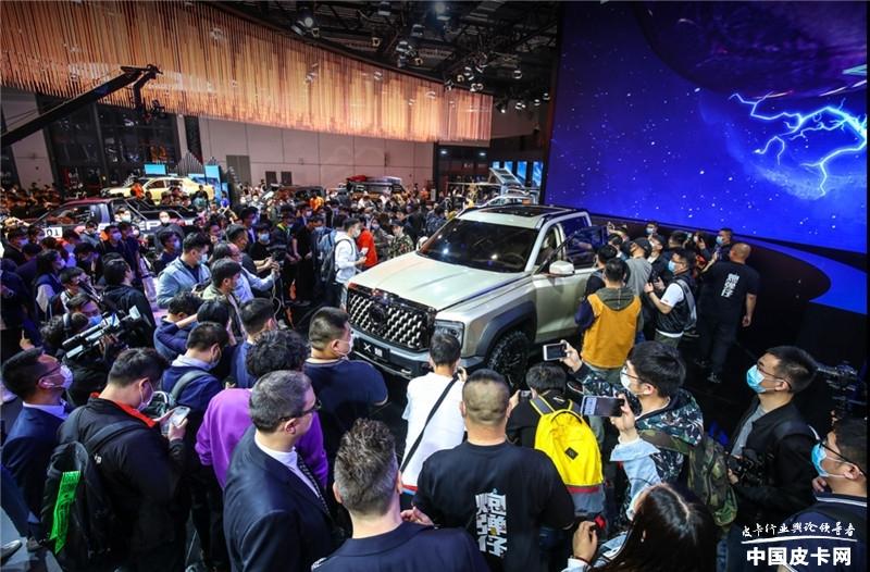 成都车展最佳印象:长城炮2年20万台,再刷行业纪录