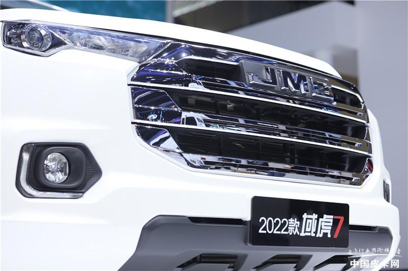 成都车展最值得期待的潮派皮卡:江铃2022款域虎7