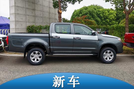 8.98万元起售 江淮T6柴油工程版皮卡上市