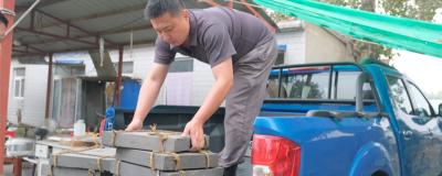开皮卡拉砖雕,锐骐6平箱自动挡体验