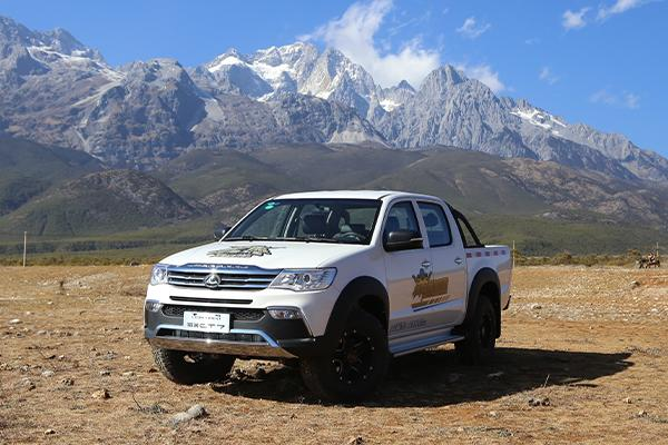 獵豹CT7皮卡正式上市   7.98萬起售共22個車款