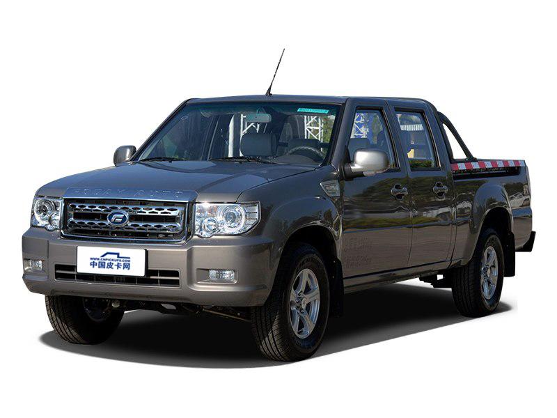 2017款2.4L汽油两驱新内饰豪华型国五长厢4G69